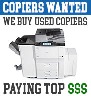 We Buy Used Copiers